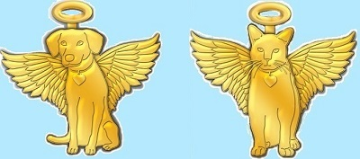 Gold Angel Pins